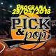 Pick&Pop 29/05/2018