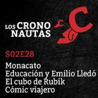 S02E28 - Monacato, Emilio Lledó, Cubo de Rubik, Cómic viajero