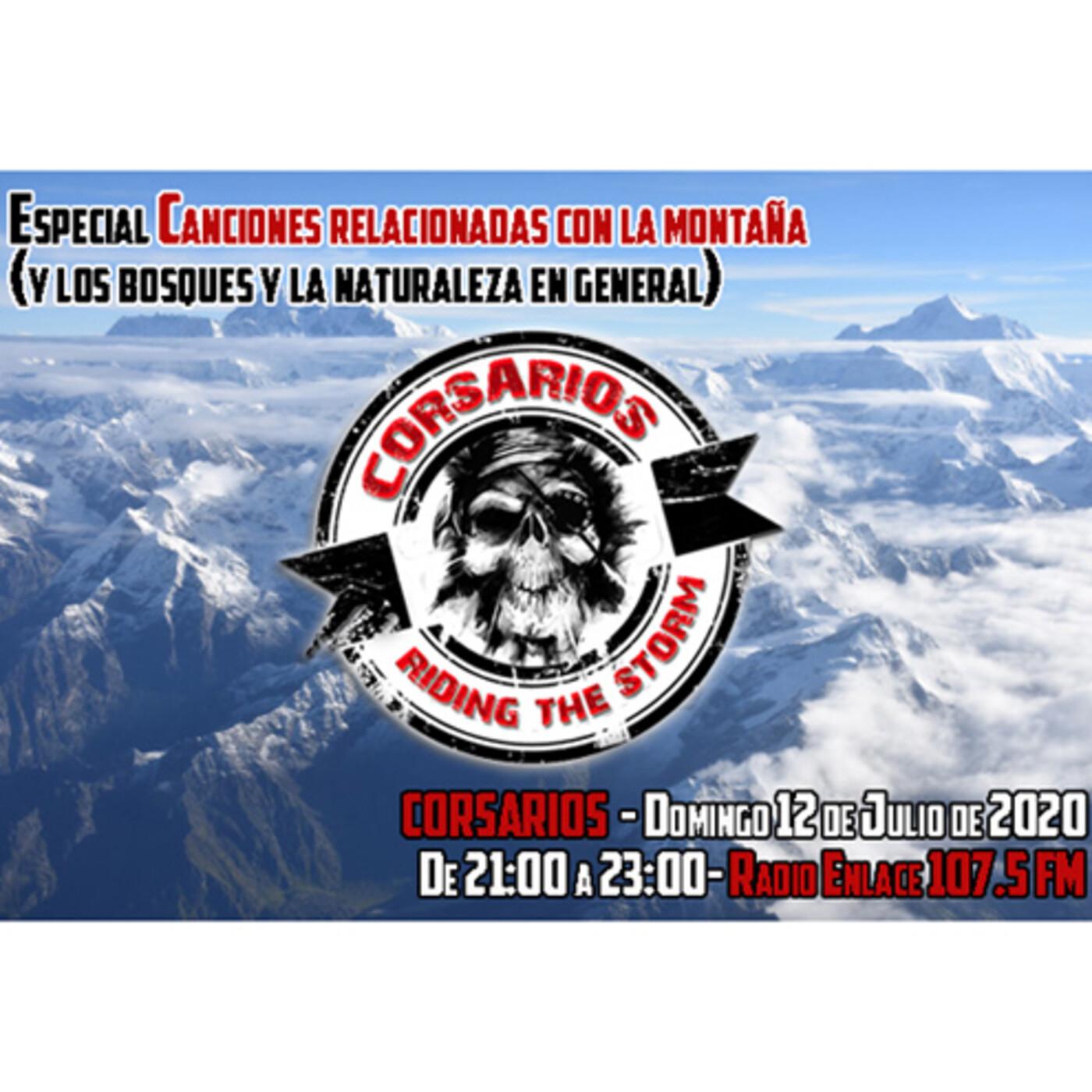 Corsarios - Especial Canciones de la montaña y naturaleza - Domingo 12 julio 2020