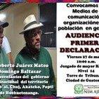 Rigoberto Juárez rinde declaración tras detención injustificada