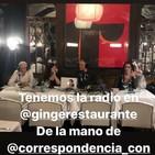 """Correspondencia con 1x20 En directo desde el restaurante """"Ginger"""""""