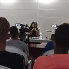 Intercambia campeona olímpica Yipsi Moreno con periodistas en La Habana (II)