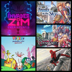 GeekClash129: Rocko Modern Life Static Cling, Invader Zim Enter The Florpus, Spiderman y Trails Of Saga.