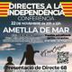 Conferència DIRECTES A LA INDEPENDÈNCIA a l'Ametlla del Mar - Pierrot