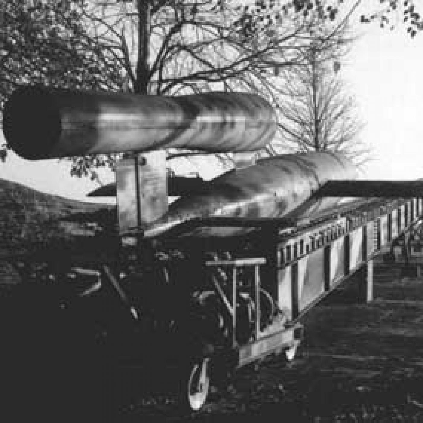 Las armas secretas nazis. Parte 3.