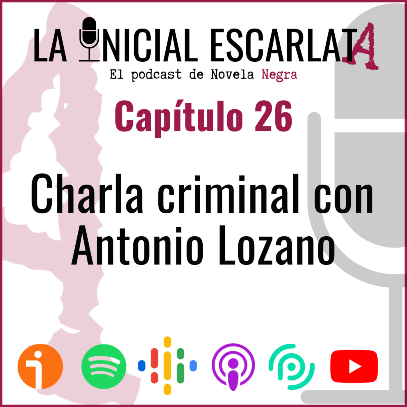 Capítulo 26: Charla criminal con Antonio Lozano (@AntonioLozzy)