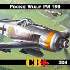 CB+PLUS Focke-Wulf 190 Würger 2/4 ¡Destructor!