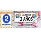 Hoy cumplimos 2 años Entrevistas en el Saloncito coord. Miren E.Palacios 090714