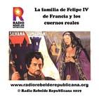 La familia de Felipe IV de Francia y los cuernos reales