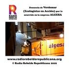 Denuncia de Verdemar (Ecologistas en Acción) por lo ocurrido en la empresa ALGESA