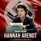 Hannah Arendt ( #Audesc Drama. Nazismo. Holocausto. Basado en hechos reales 2012)