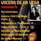 Vocera de la Vega: La Runa Guibur - Programa 18