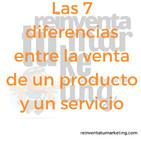 Las 7 diferencias entre la venta de un producto y un servicio