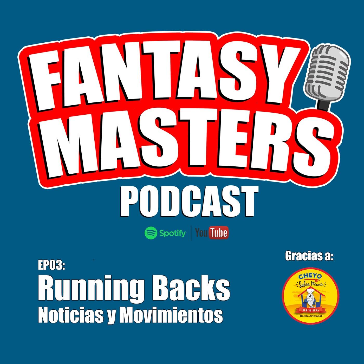 Running Backs - Noticias y Movimientos 2020 - EP03