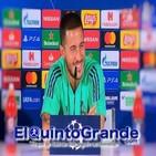 Rueda de Prensa Eden Hazard previa al Real Madrid - Brujas ( UCL - T19/20 )