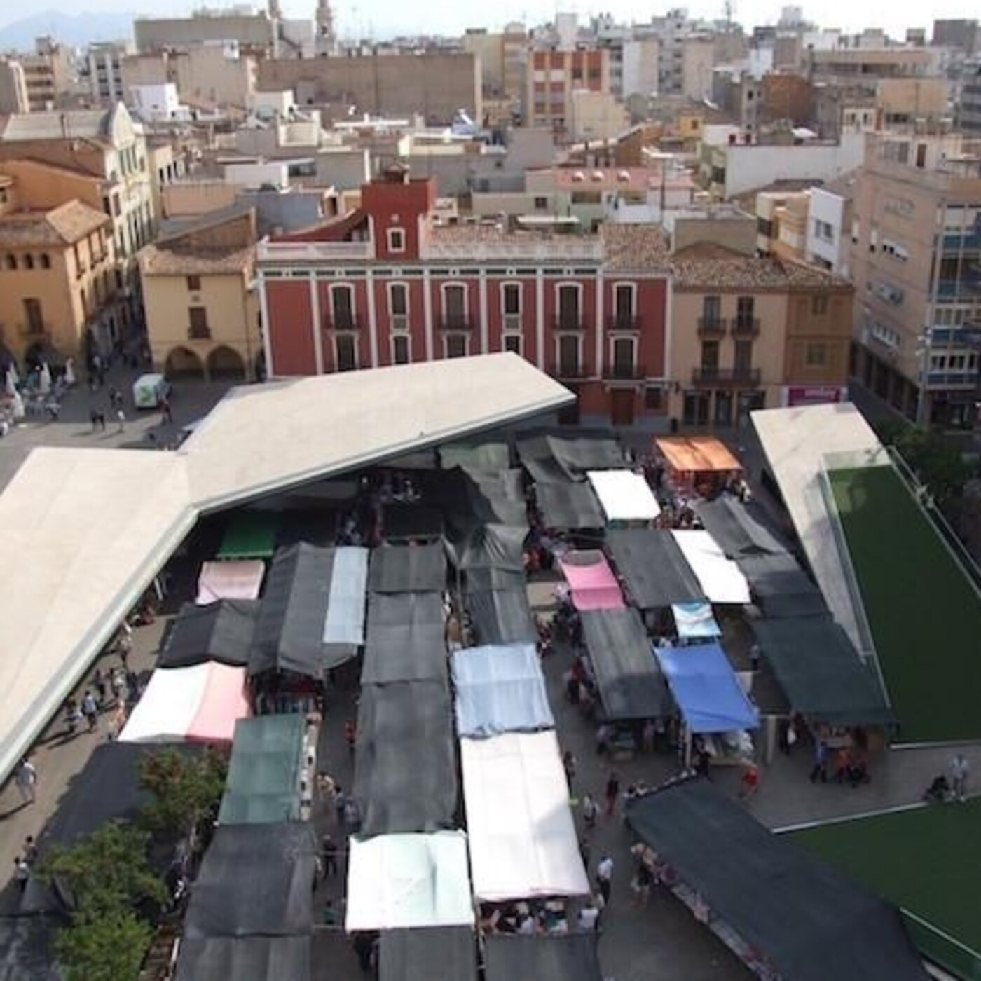 El mercat de Vila-real i al seua història. «El mercat de la Vila»