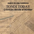 """TONDI TODAY: Diario de una pandemia. 17 """"Tertulia: Gerald Dean, Alfonso Trinidad y Miguel Ángel Ruíz""""."""