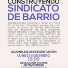 Enlace Informativo 10 enero 2019 (Presentación del Sindicato de Barrio de Hortaleza, presupuestos participativos...)