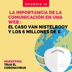 La importancia de la comunicación en una web: el caso Van Nistelrooy y los 6 millones de euros