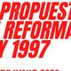 Propuesta de reforma de pensiones ley 1997 (afores)