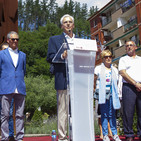 Descripción de C.Totorika y J.L.Calleja en el acto de recuerdo a M. Ángel Blanco y a la ciudadanía en el XX aniversario
