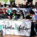 Alegaciones contra el PGOU-Per L'Horta. Rueda de prensa.