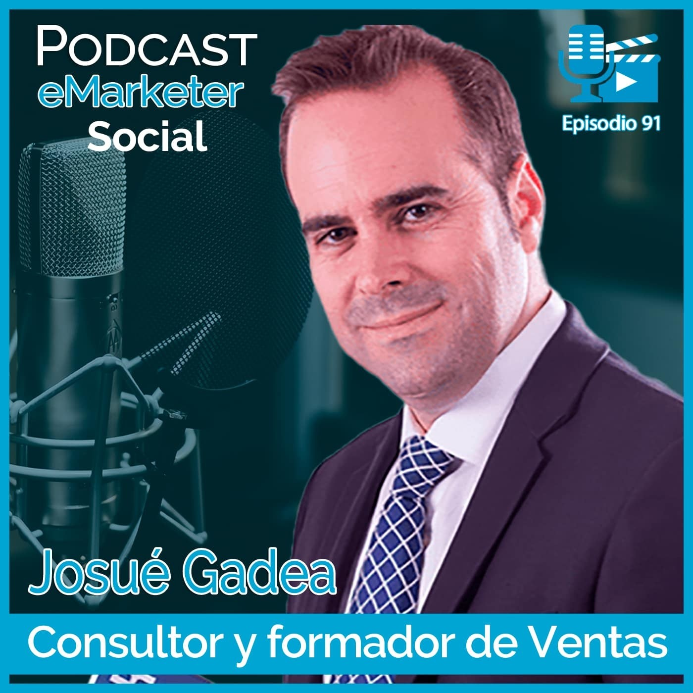 091 Entrevista a Josué Gadea: Su historia (1ª parte) en Podcast eMarketerSocial