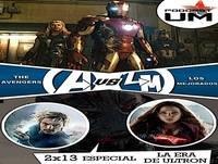PODCASTUM 2x13 Especial Los Vengadores: La Era De Ultron... pero mola mas La Vision
