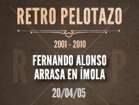 Fernando Alonso arrasa en Ímola
