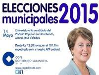 Entrevista Mª Jose Valadés en COPE Don Benito Villanueva