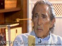 """Entrevista de Jesús Quintero a Antonio Gala: """"No os molestéis, conozco la salida"""" (Canal Sur, 2013)"""