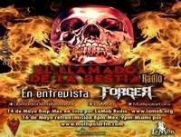 El Llamado de la Bestia Radio programa, Entrevista con FORGER 14/05/2015