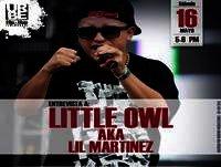 Entrevista Little Owl Aka Lil Martinez