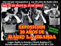 ExposiciÓn 30 aÑos de radio la granja.1985-2015.(Cuña)