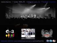 26/04/2015 Entrevista a MUN en Cena Para Tr3s