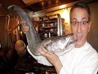 Oído Cocina: Merluza con verduras al horno con reducción de vinagre de sidra