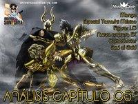 4x33 Caballeros del Zodiaco: Manga · Tamashii México · Figuras · Comentarios · Anlálisis cap 5 de Soul of Gold