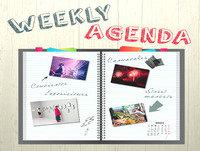 Raquel Cruz Weekly Agenda prog 9