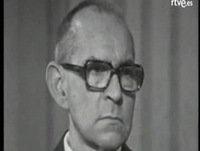 """Salvador Espriu - Entrevista en el programa """"A fondo"""" (TVE, 1976)"""