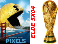 ELDE crítica PIXELS, el Mundial de los Videojuegos, Jukebox 2 (4 agosto 2015)