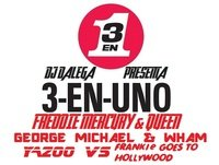 Dj Dalega - 3 EN UNO - Vol 5 - Freddie Mercury & Queen + George Michael & Wham + Yazoo Vs Frankie Goes To Hollywood
