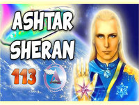 El comandante Asthar Sheran Federación galactica con Rosalia Sanz