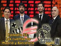 Podcast EJDN. Episodio 52: Las cuentas de Madrid y Barcelona