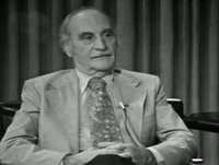 """Francisco Ayala - Entrevista en el programa """"A fondo"""" (TVE, 1977)"""
