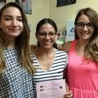"""Entrevista representantes Erasmus + del IES """"Cañada de la Encina"""" de Iniesta"""