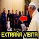La EXTRAÑA visita de los astronautas de la NASA al Papa