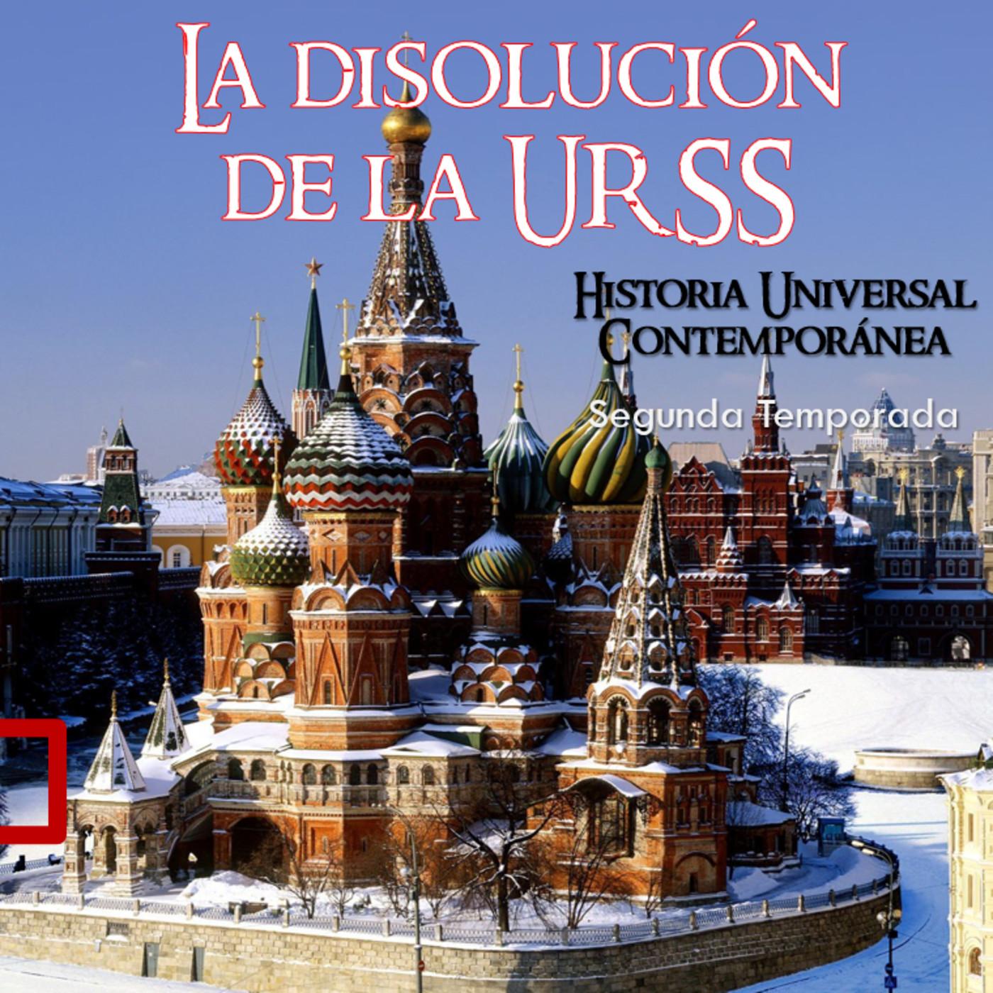 La disolución de la URSS