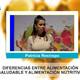 Diferencias entre ALIMENTACIÓN SALUDABLE Y ALIMENTACIÓN NUTRITIVA - Patricia Restrepo