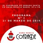 Doña Mencía Cofrade 21/3/2019