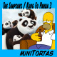 [miniTortas] The Simpsons, Kung Fu Panda 3